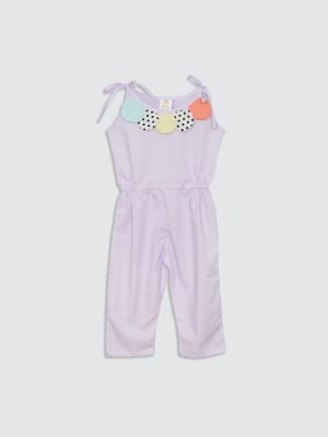 Chicle Gum Jumpsuit - Front
