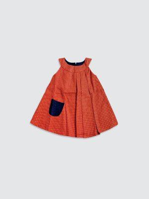 Petunia-Dress---Orange---Front