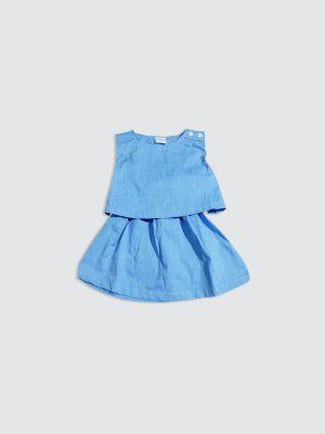 Sleya-Dress---Blue---Front