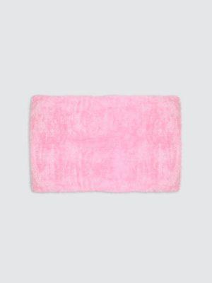 Square-Petal-Fur-Rug-Large