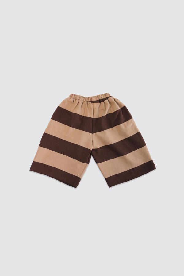 Brown-Stripe-Basic-Culotte-Back