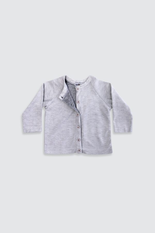 Grey-Basic-Cardigan—Front