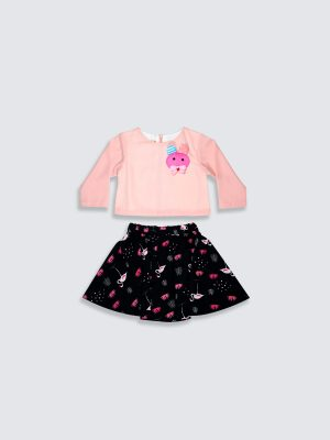 Dancing Flamingo Rok n Blouse_Front