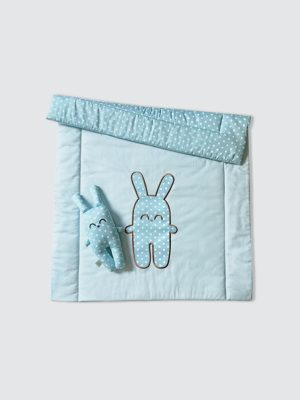 Blanket-Set-Bunny---Baby-Blue---Open