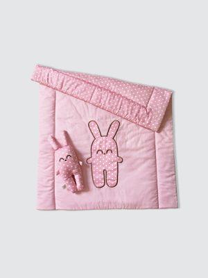 Blanket-Set-Bunny---Pink---Open