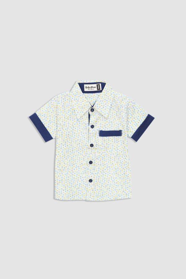 Sandy-Shirt—Green-Dot—Front