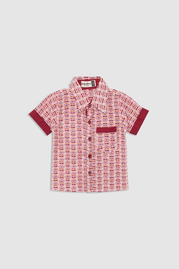Sandy-Shirt---Red---Front