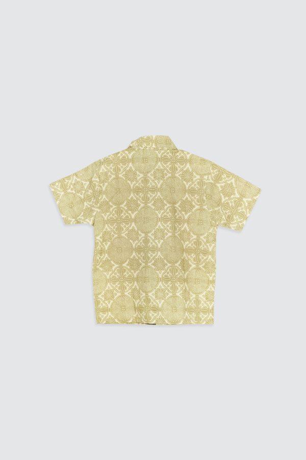 Madha Jlamprang Green Kids Shirt – zBack