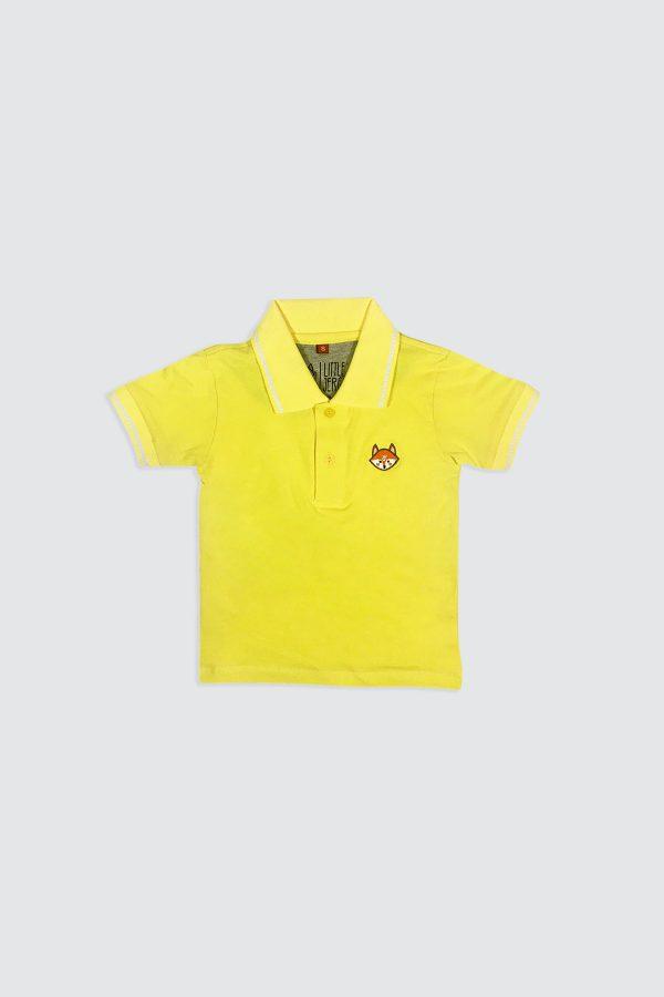 P011—Fox-Yellow-Polo