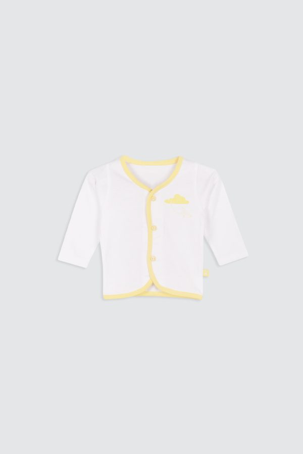 Paperplane-Long-Sleeve-Shirt-Yellow—Front
