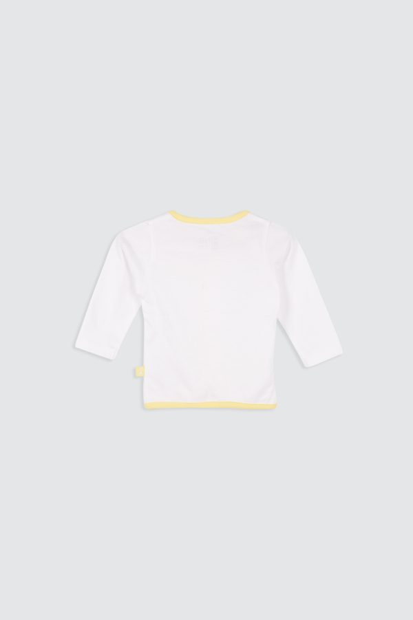 Paperplane-Long-Sleeve-Shirt-Yellow—zBack