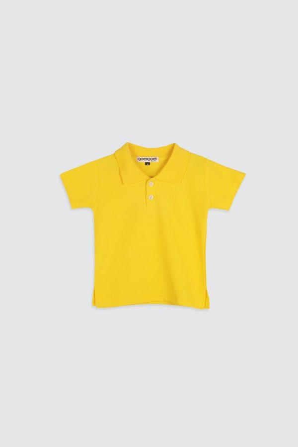 Polo-Shirt-Lemon-Yellow—1