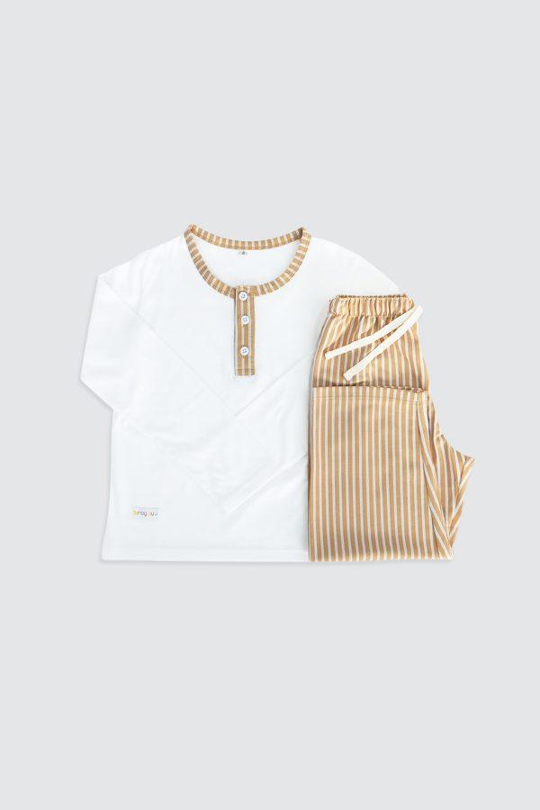 Long-Sleeve-Henley-Pjamas-and-Long-Pants-Cream