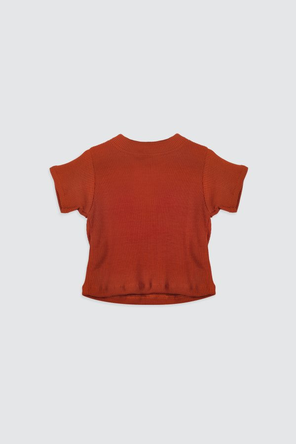 Orlaa-Basic-Ribbed-Top-Teracotta-1